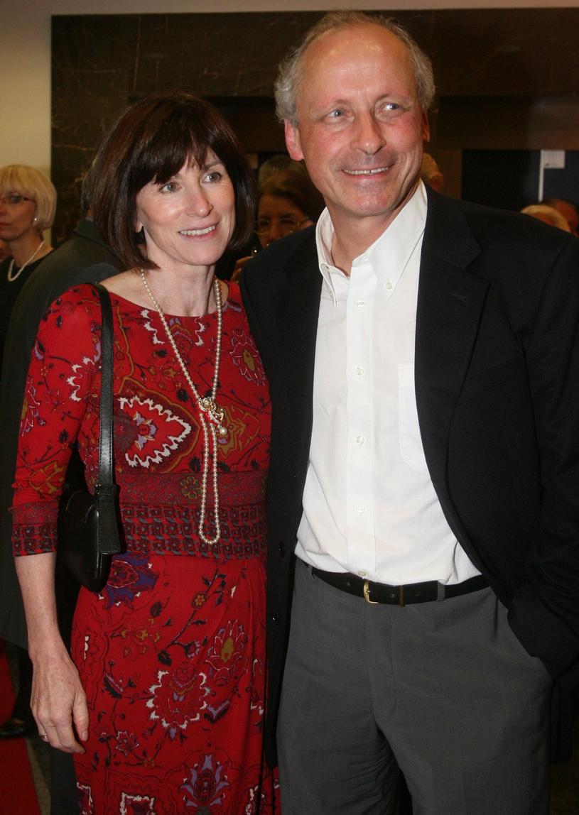 Paweł Wawrzecki z żoną /Piotr Fotek /Reporter