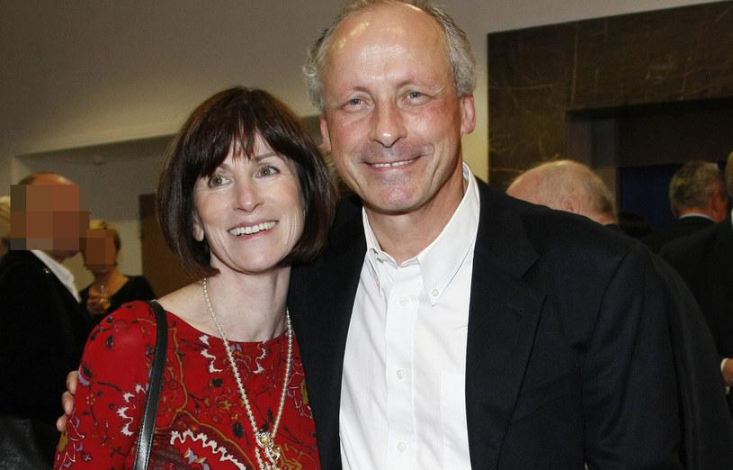 Paweł Wawrzecki z żoną / Engelbrecht /AKPA
