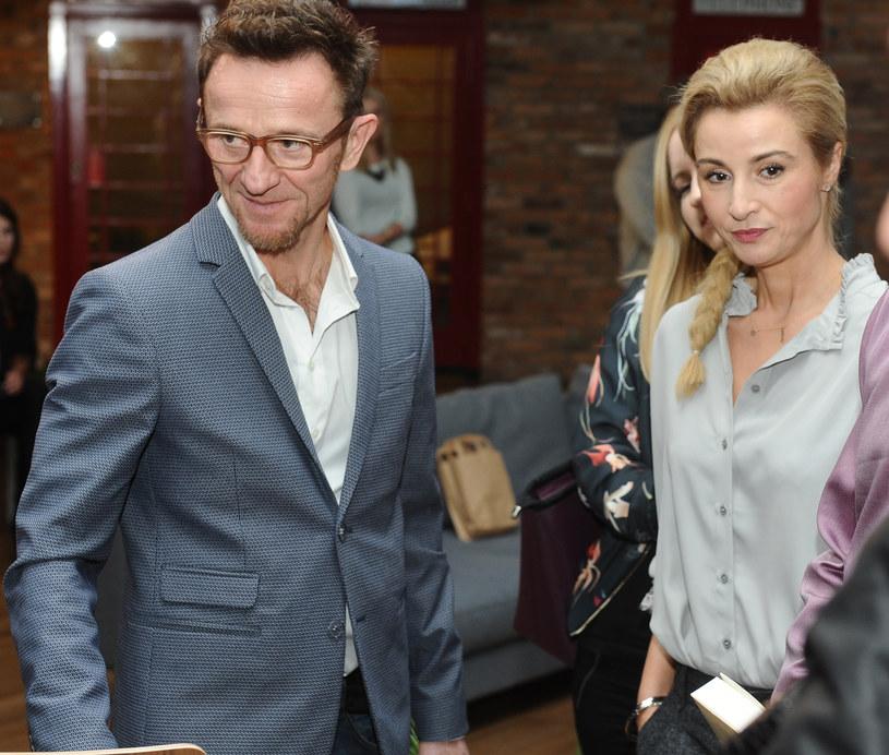 Paweł Wilczak i Joanna Brodzik /Piotr Andrzejczak /MWMedia