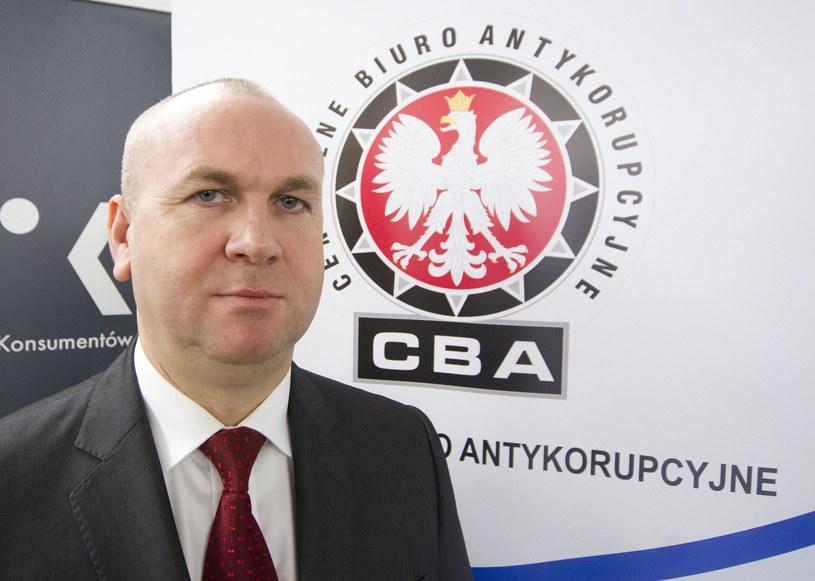 Paweł Wojtunik, były szef CBA /Krystian Dobuszyński /East News