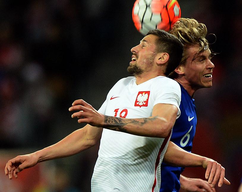Paweł Wszołek (z lewej) nie pojedzie na Euro 2016 /AFP