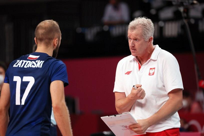 Paweł Zatorski i trener Vital Heynen / Leszek Szymański    /PAP
