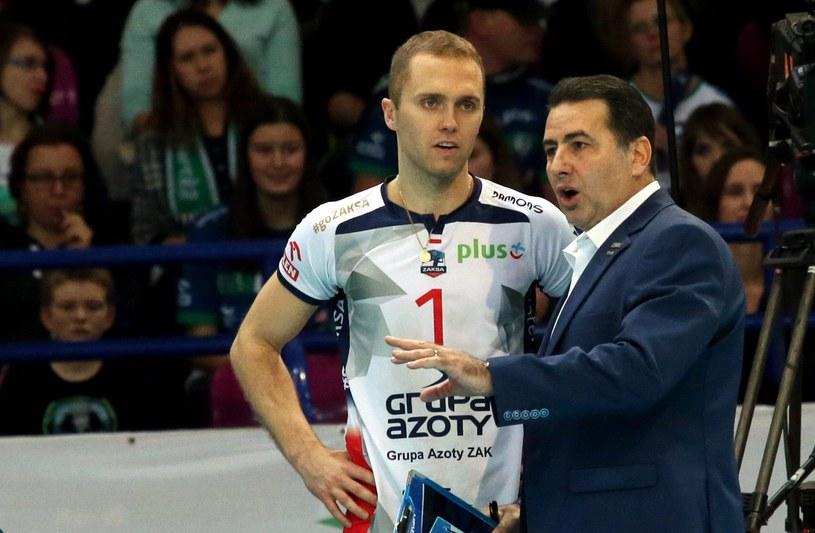 Paweł Zatorski nie ukrywa, że jest szczęśliwy po passie zwycięskich meczów /Fot. Kuba Atys /