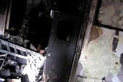 Pawilon, który płonął już trzy razy w ciągu miesiąca