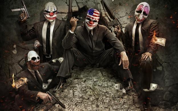 PayDay: The Heist - motyw graficzny /Informacja prasowa