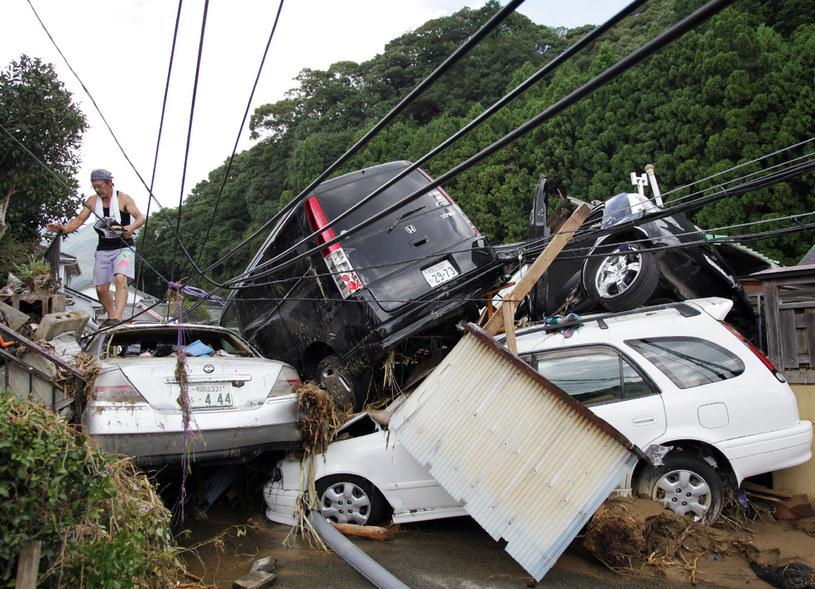 Październik rekordowy pod względem tajfunów /AFP