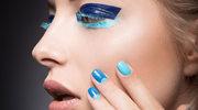 Paznokcie w kolorze blue