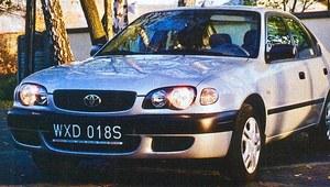 """""""Pazur"""" Toyoty Corolli - test"""