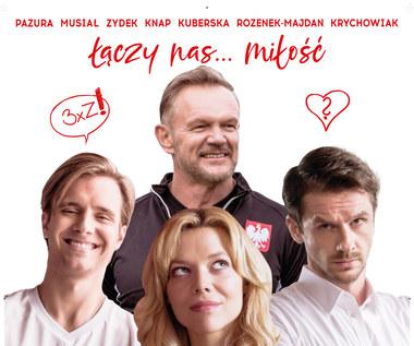 """Pazura, Musiał, Zydek i Knap na plakacie """"Drugiej połowy"""""""
