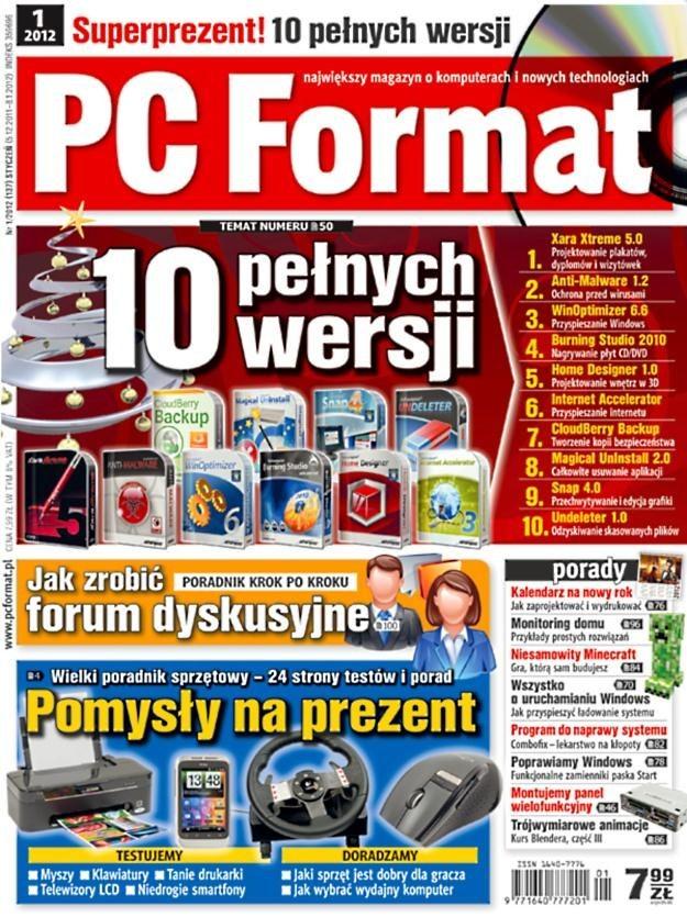 """""""PC Format 01/2012"""" - od 5 grudnia w kioskach /PC Format"""