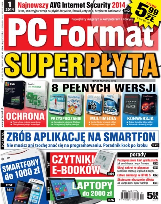 PC Format 01/2014 - w kioskach od 2 grudnia /PC Format
