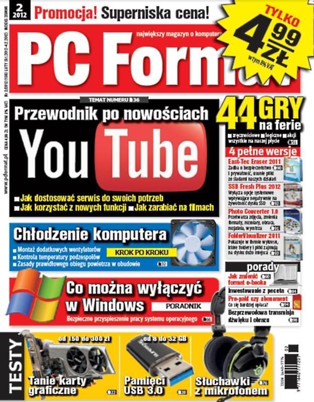 PC Format 02/2012 - od 9 stycznia w kioskach /PC Format