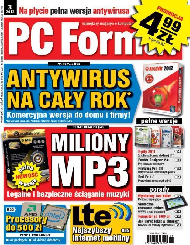 PC Format 03/2012 - od 6 lutego w kioskach /PC Format