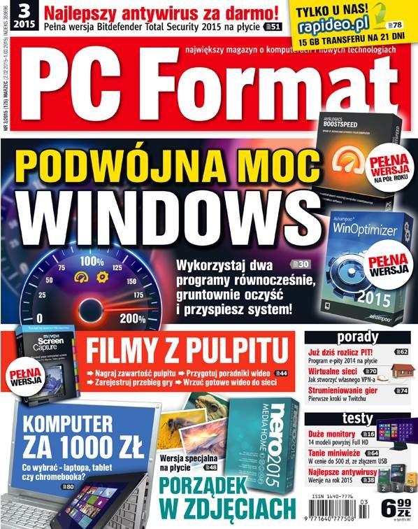 PC Format 03/2015 w kioskach 2 lutego /materiały prasowe