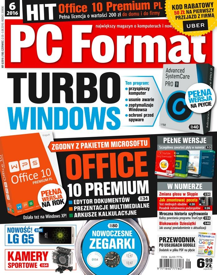 PC Format 06/2016 - w kioskach od 2 maja /PC Format