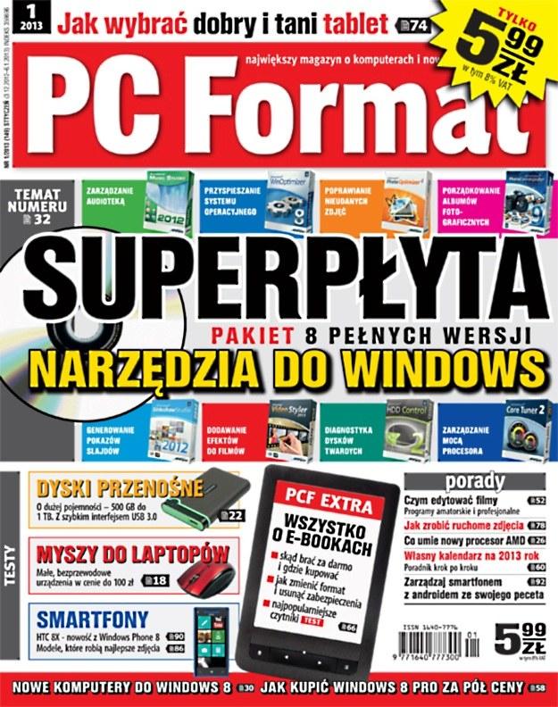 PC Format 1/2013 już w kioskach /materiały prasowe