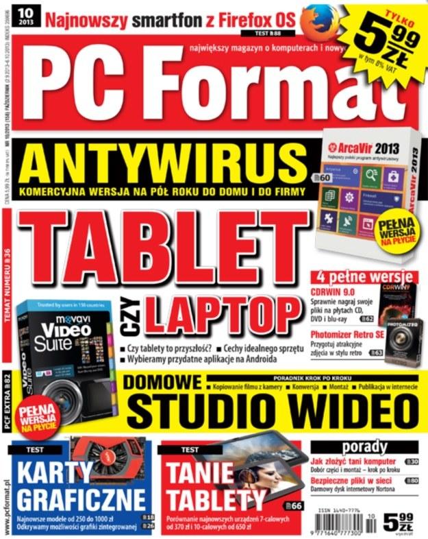 PC Format 10/2013 - w kioskach od 2 września /PC Format