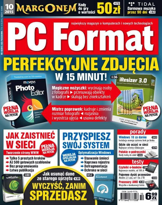 PC Format 10/2015 /materiały prasowe