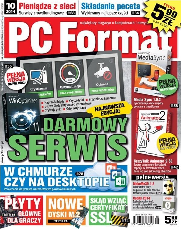 PC Format 11/2014 - w kioskach od 1 września /PC Format