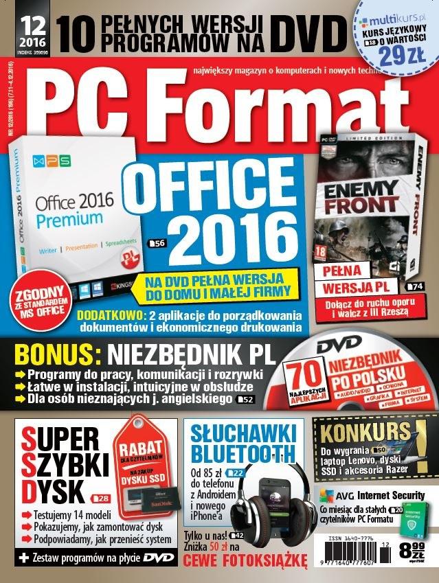 PC Format 12/2016 /materiały prasowe