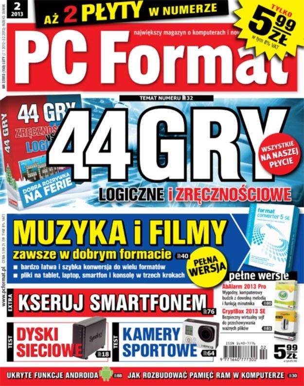 PC Format 2/2012 - 44 gry i kserowanie smartfonem /materiały prasowe