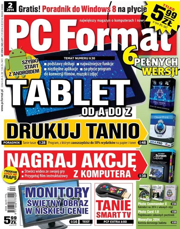 PC Format 2/2014 - w sprzedaży od 7 stycznia /materiały promocyjne