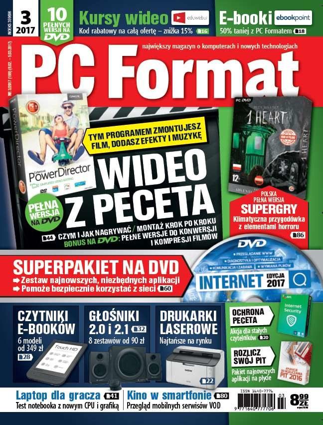 PC Format 3/2017 /materiały prasowe