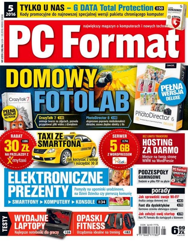 PC Format 5/2016 - w kioskach od 4 kwietnia /PC Format