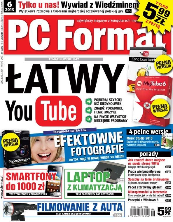 """""""PC Format 6/2013"""" - nowy numer - od 6 maja 2013 w sprzedaży /materiały prasowe"""