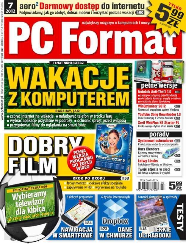 """""""PC Format 7/2012"""" - w kioskach od 4 czerwca /PC Format"""