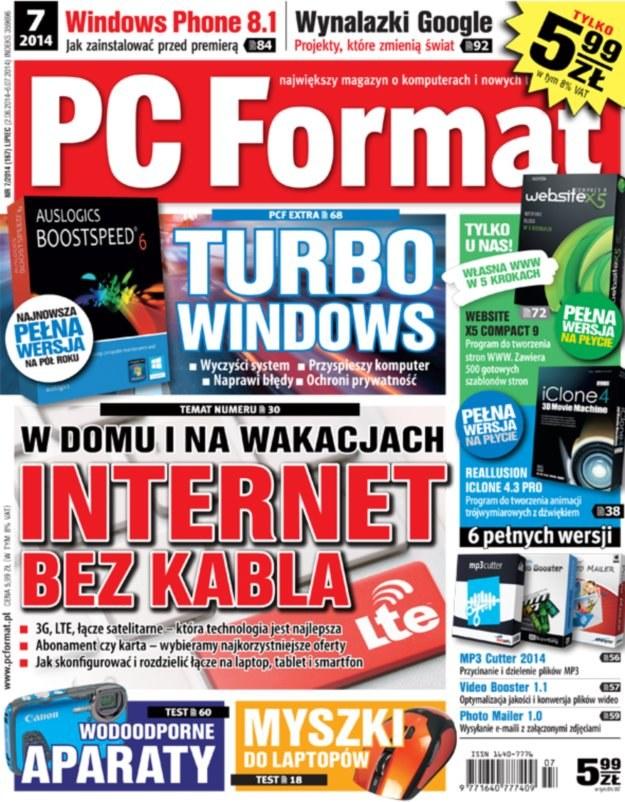 PC Format 7/2014 - w kioskach od 2 czerwca /materiały prasowe