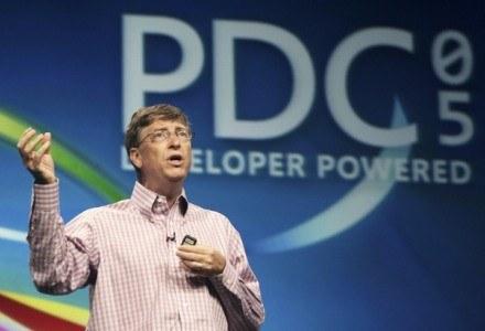 PDC 2005 - Bill Gates prezentuje Windows Vista /AFP