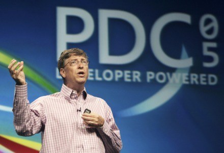 PDC 2005 - Bill Gates prezentuje Windows Vista /AFP