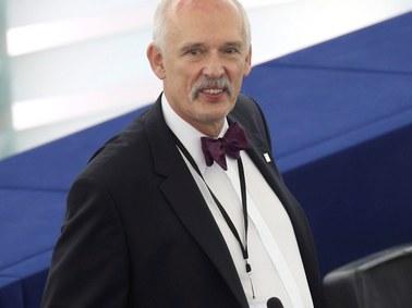 PE uchylił immunitet Korwin-Mikkemu za spoliczkowanie Boniego