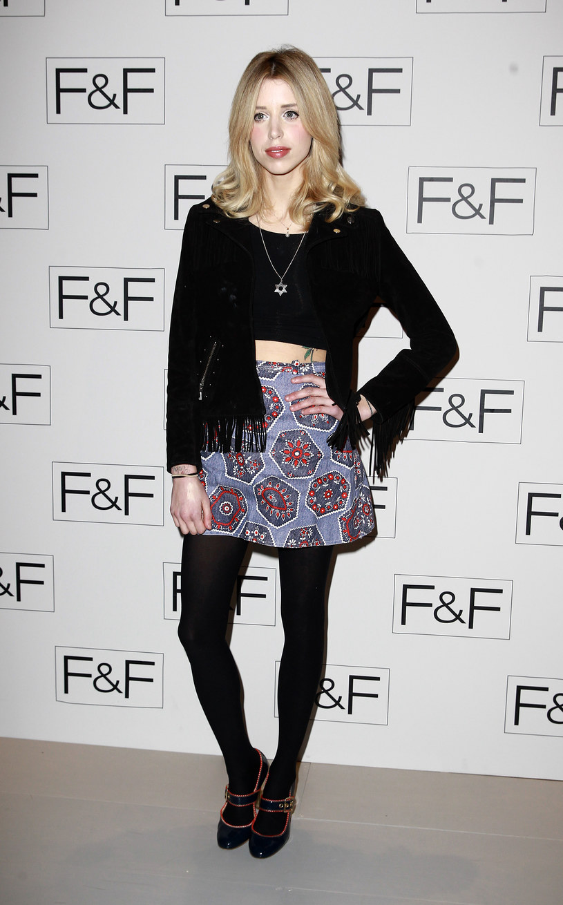Peaches Geldof - styczeń 2014 r. /Fred Duval /Getty Images