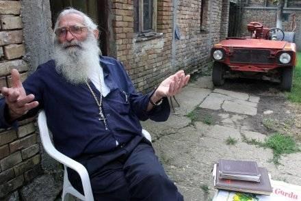 Peatr Glumac, któremu Karadzić ukradł wygląd /AFP