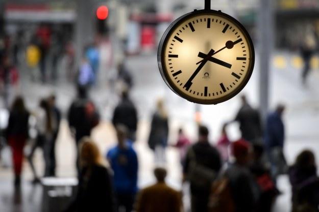Pechowy dla Apple zegar SBB /AFP