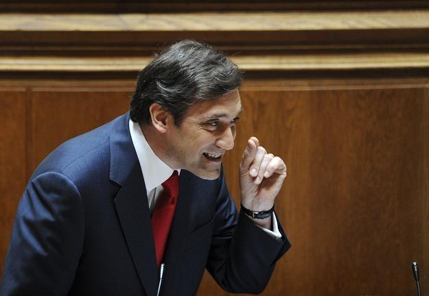 Pedro Passos Coelho, peremier rządu Portugalii /AFP