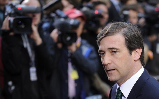 Pedro Passos Coelho, premier Portugalii /AFP