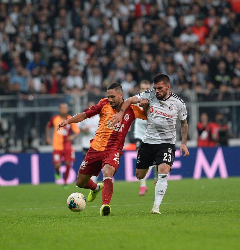 Pedro Rebocho mecz Besiktas - Galatasaray w lidze tureckiej może porównać do hitu Ekstraklasy Legia - Lech /SESKIMPHOTO /Newspix