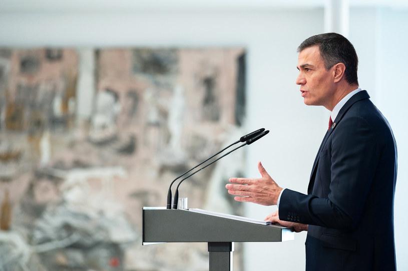 Pedro Sanchez, premier Hiszpanii /La Moncloa Xinhua  /East News
