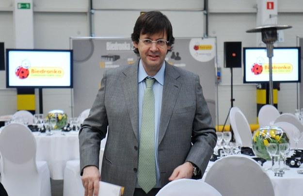 Pedro Soares Dos Santos, prezes i dyrektor generalny Jeronimo Martins Group /Marek Lasyk/REPORTER  /Reporter