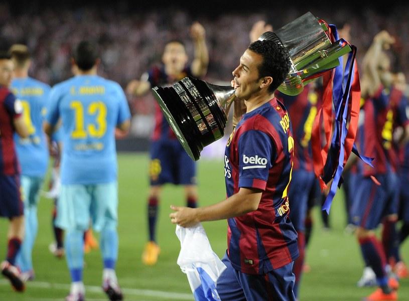 Pedro z Pucharem Króla /AFP
