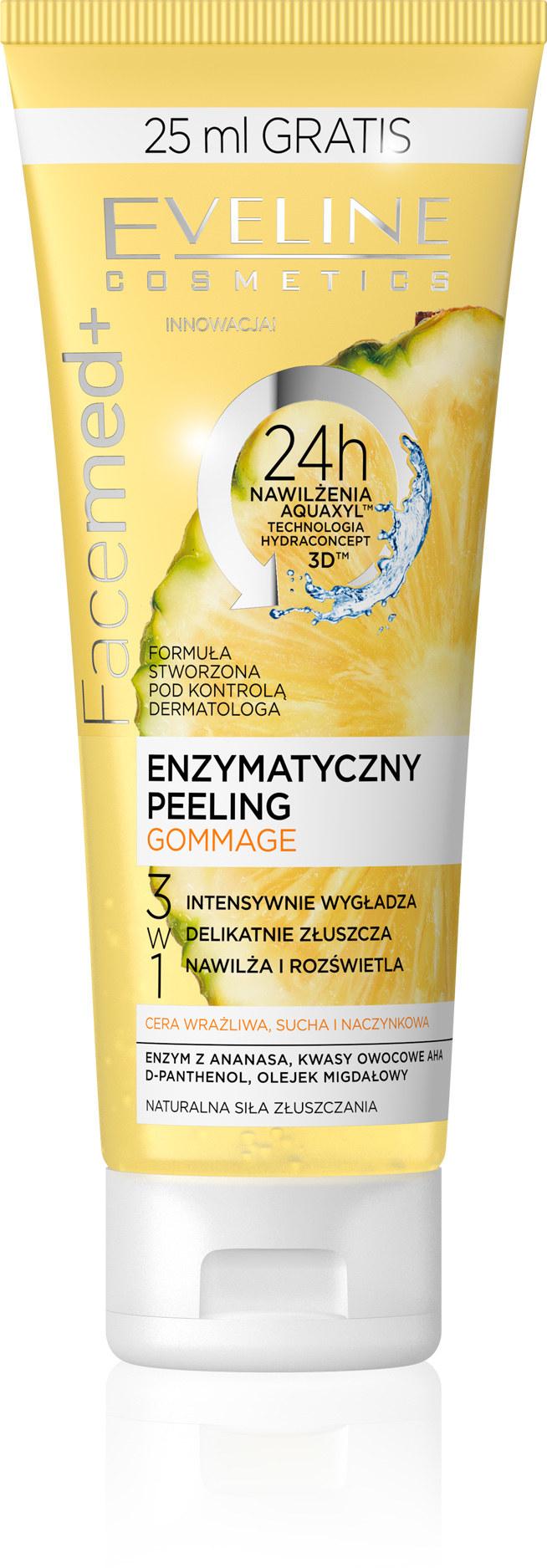 Peeling gommage od Eveline Cosmetics /INTERIA.PL/materiały prasowe