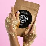 Peeling kawowy Błyskotliwy Prowokator Shimmer Gold - nowość od BodyBoom