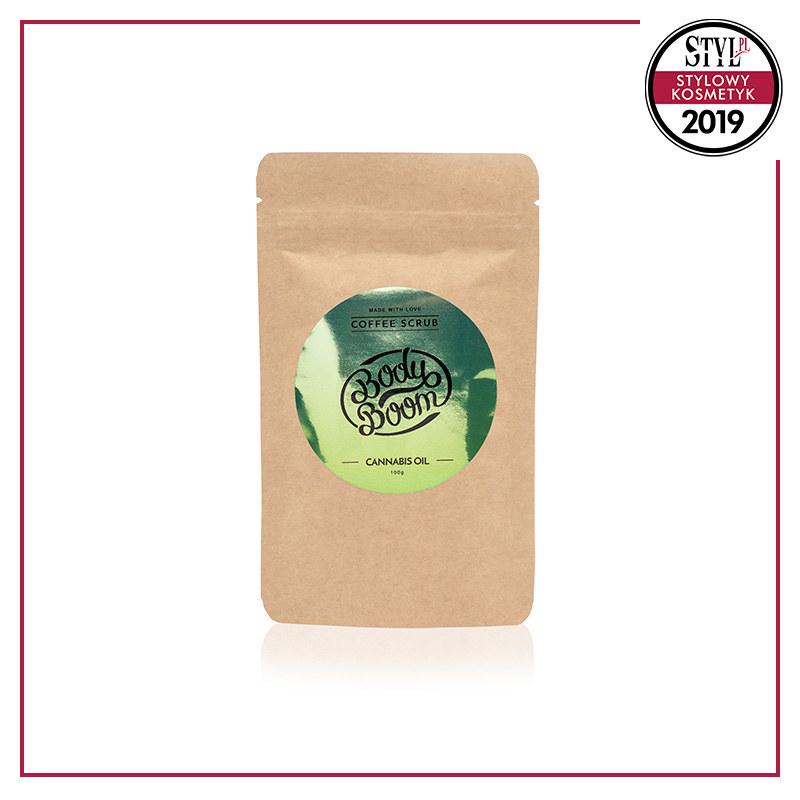 Peeling kawowy Cannabis Oil, BodyBoom /Styl.pl