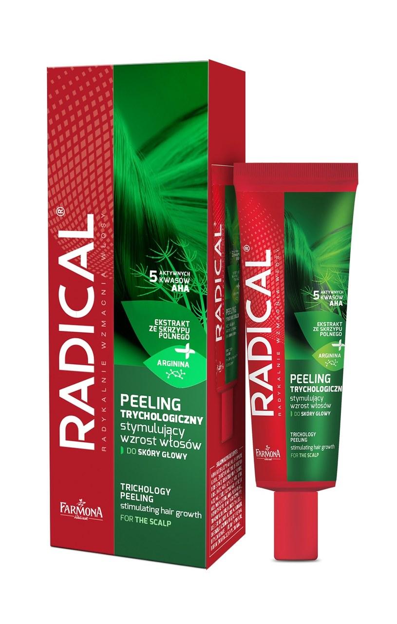Peeling trychologiczny marki Radical /INTERIA.PL/materiały prasowe
