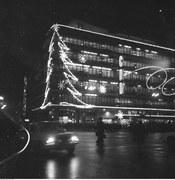 Peerelowskie iluminacje świąteczne