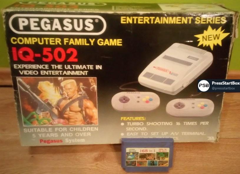 Pegasus - fragment zdjęcia zamieszczonego w serwisie YouTube /materiały źródłowe