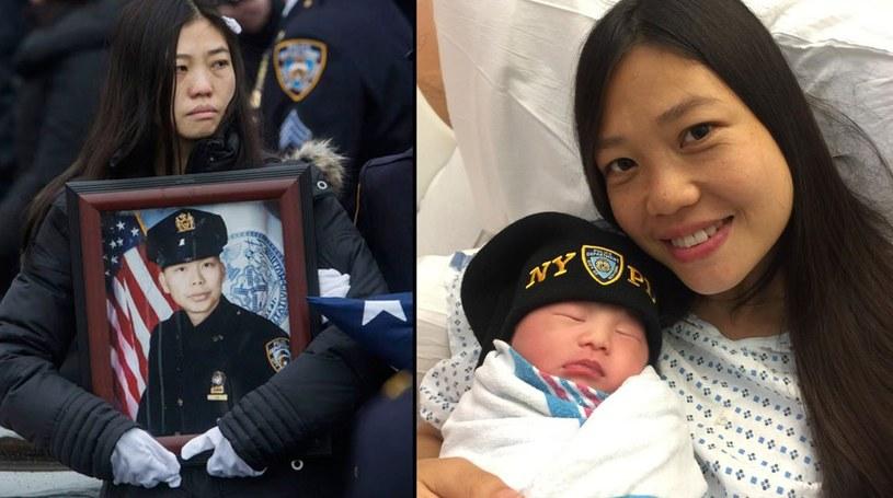 Pei Xia Chen urodziła małą Angelinę we wtorek /Twitter